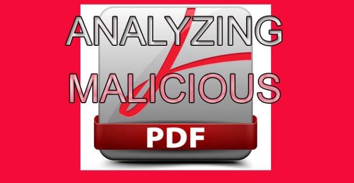Malicious PDF File  - Analyzingpdf - Creating and Analyzing a Malicious PDF File with PDF-Parser Tool