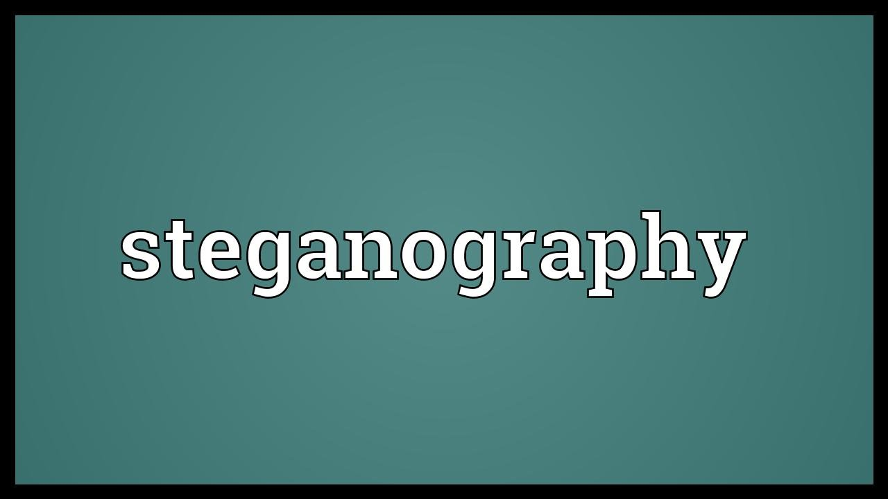 Risk with Steganography and Importance of running Steganalysis