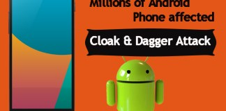 Android Phones Vulnerable to Cloak & Dagger attack