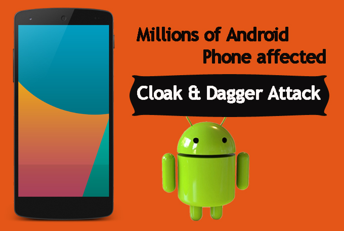 %name Cloak & Dagger exploit can steal the important data from your Android smartphones   Heres how to deal with it
