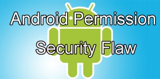 Android Permission Security Flaw