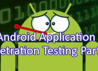 Android Application Penetration testing Part 3