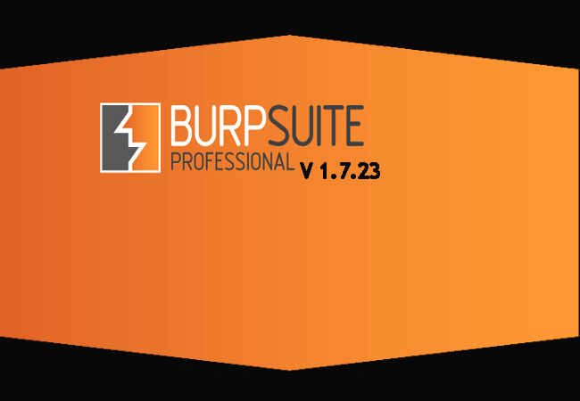 new with Burp Suite Version 1.7.23