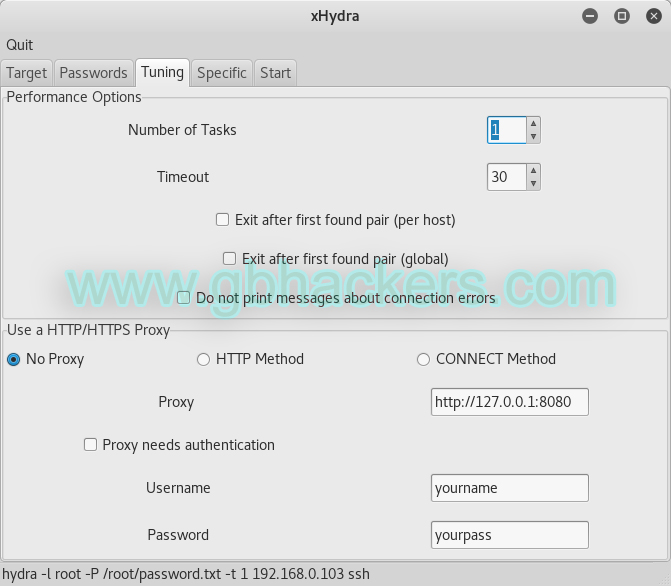THC-Hydra Tool   - hydra3 - Online password Bruteforce attack with THC-Hydra Tool