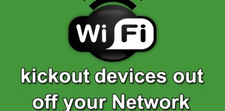 Kickout Devices Out of Your Network and Enjoy all the Bandwidth