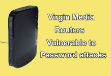 Virgin Media Home Routers Vulnerable to Password Attacks