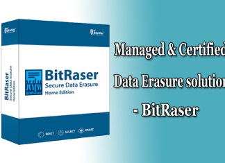 BitRaser Managed & Certified Data Erasure Solution