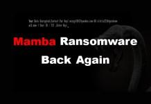 Mamba Ransomware