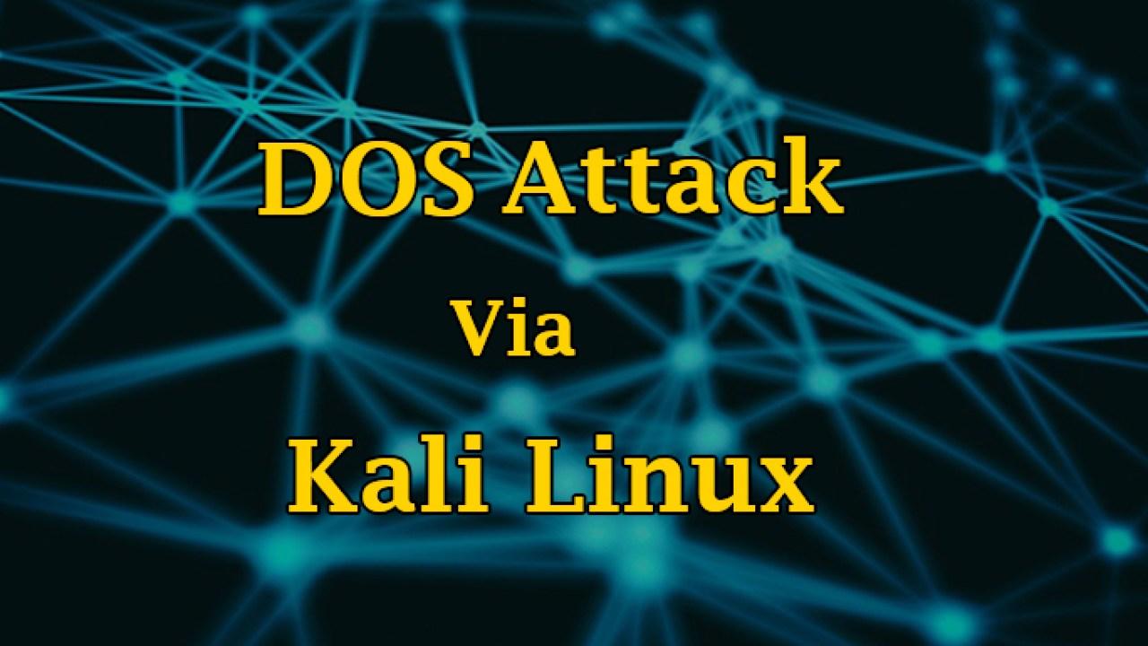 Kali Linux Tutorial - Most Powerful DoS tool XERXES