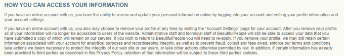 - 5 - Privacy Policy -What kind of Sensitive Information Collecting by Websites