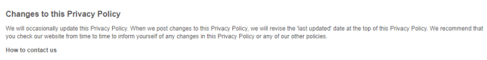 - 6 - Privacy Policy -What kind of Sensitive Information Collecting by Websites