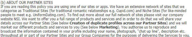 - 7 - Privacy Policy -What kind of Sensitive Information Collecting by Websites