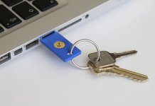 Physical USB Security Key