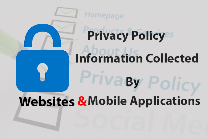 Privacy Policy  - Privacy policy1 - Privacy Policy -What kind of Sensitive Information Collecting by Websites