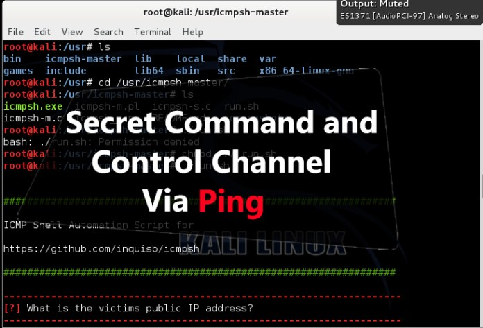 ICMP Shell  - icmp GBHackers - ICMP Shell- Secret C&C Channel to Control Victims Machine Using Ping
