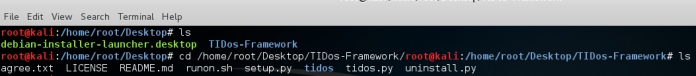 - Screenshot 375 - TIDoS Framework -Web Penetration testing toolkit for Reconnaissance