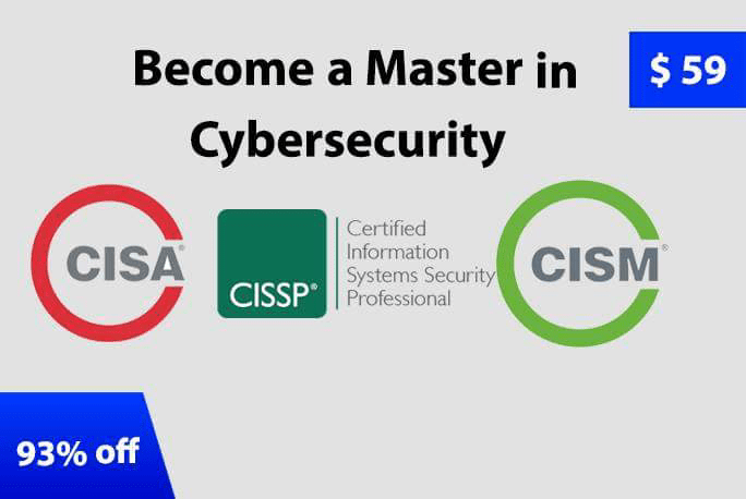 Become Master in Cyber Security  - cism - Become Master in Cyber Security with Complete Advance Level Security Course Bundle