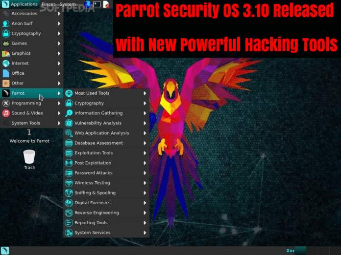 Parrot Security OS 3.10