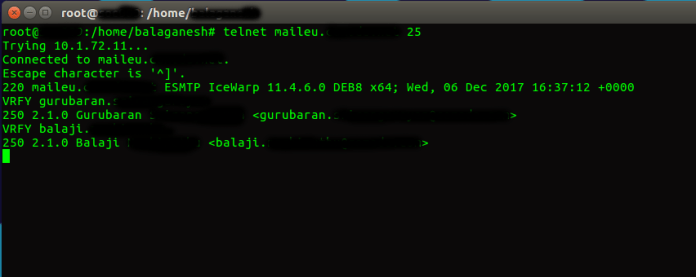 Email Spoofing - Exploiting Open Relay configured Public