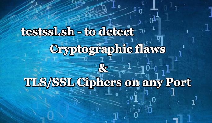 TLS/SSL vulnerabilities  - ssltls - Tool to check TLS/SSL vulnerabilities and Ciphers