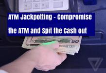 ATM Jackpotting