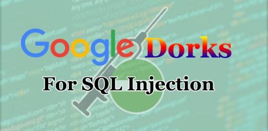 SQL Dorks