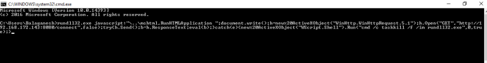 - Screenshot 515 - Secret Command & Control Channel Backdoor to Control Victims Machine