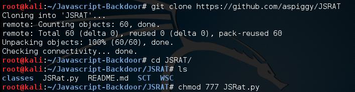 JSRAT - A Secret Command & Control Channel Backdoor