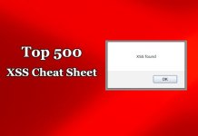 XSS Cheat Sheet