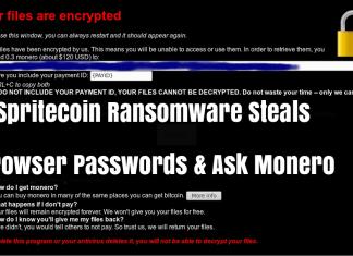 Spritecoin Ransomware