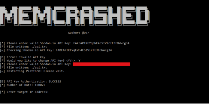 Memcached DDOS attacks