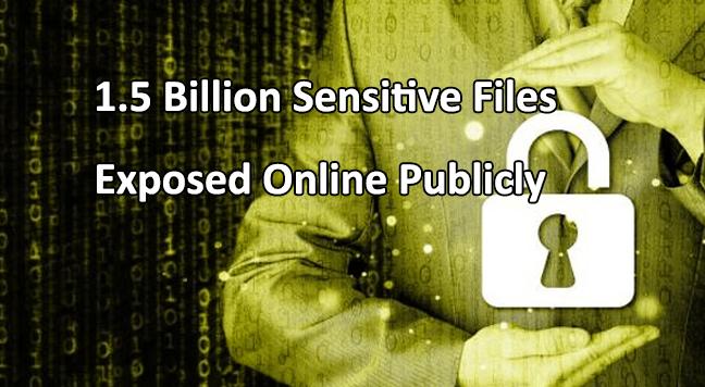 1.5 billion sensitive files