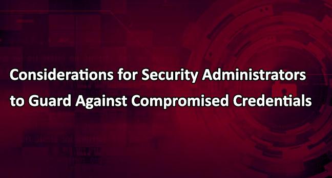 Compromised Credentials