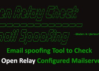 Email spoofing Tool