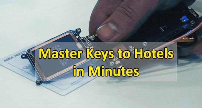 electronic lock  - Lock keys1 - Hackers Created Master key to Unlock Millions of Hotel Rooms Worldwide