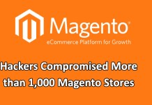 Magento stores compromised