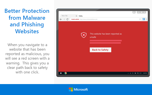 Windows Defender Browser Protection Extension  - Windows Defender Browser Protection Extension2 - Windows Defender Browser Protection Extension Ported to Chrome