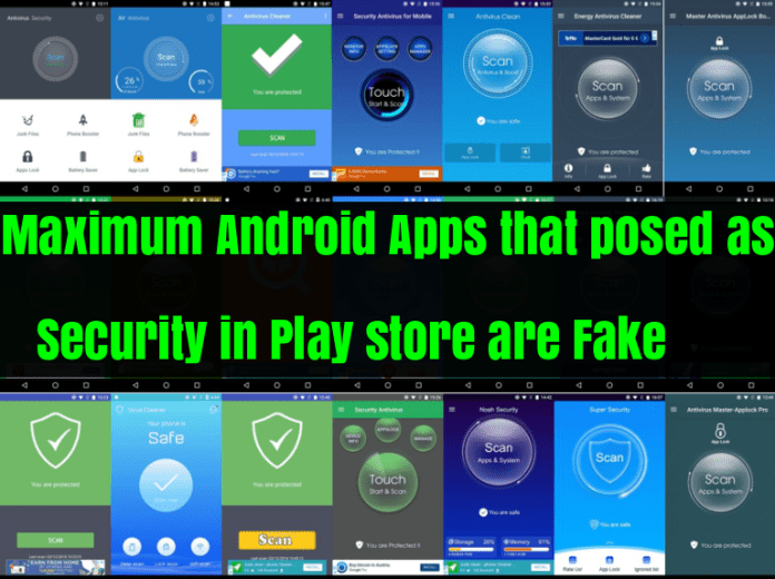 Fake Android Apps