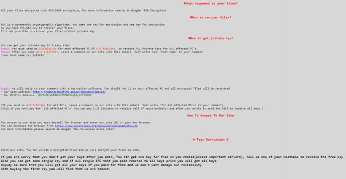 - sam notes - SamSam Ransomware Attack Exploit Organization Network Vulnerabilities