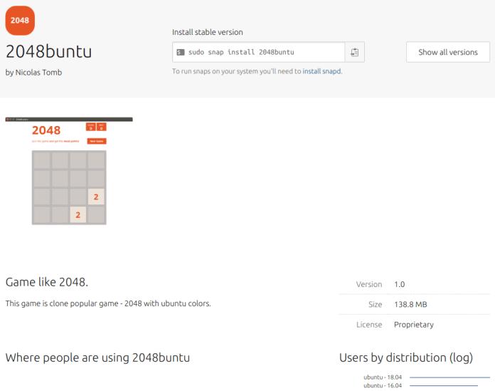 Ubuntu Snap Store