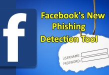 Facebook phishing detection tool