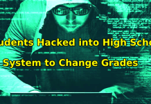 Students hacked