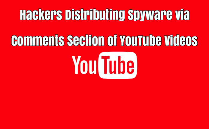 YouTube Videos  - YouTube Videos - Hackers Distributing Spyware via Comments Section of YouTube Videos