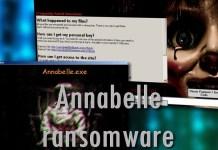Annabelle & MBRLock ransomware