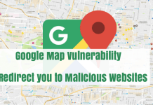 Google Map Vulnerability