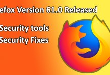 Firefox version 61.0