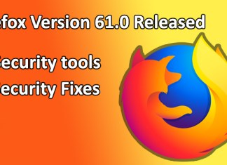 Firefox version 61.0