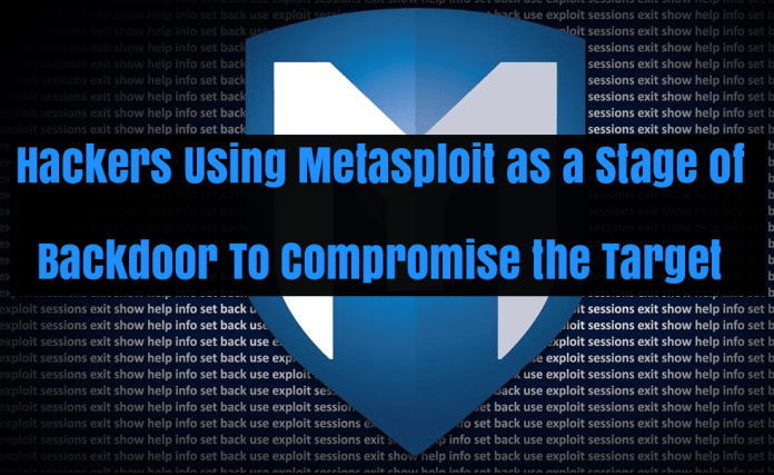 Metasploit Backdoor  - HLCXH1527241361 - A Sophisticated Malware Attack using Metasploit Backdoor